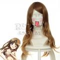 【已下架,无现货/定做款】主宰者 B型H系 山田 微卷加厚 棕色 cosplay动漫假发 033C