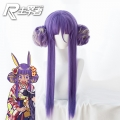 【已下架,无现货/定做款】主宰者 Fate/Grand Order 尼托克丽丝 和服版 紫色大发包 cos动漫假发 235W