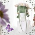 主宰者 夏日嫩绿 日系JK lolita长直发 女团假发套【抹茶物语】 LOLI-024